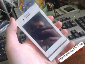Sony Xperia U LT26i+wifi+tv+2sim White в наличии